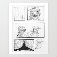 MR COOL. Art Print