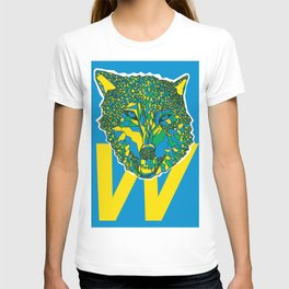 color your wolf T-shirt