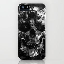 Kingdom Skull B&W iPhone Case