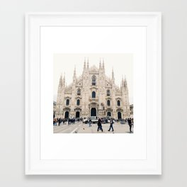 Italy Milan Photography Art Decor Wall Art Home Decor Square Prints Framed Art Print