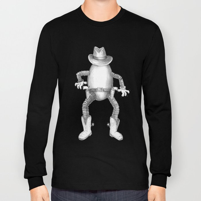 Quick draw McEgg Long Sleeve T-shirt
