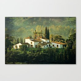 Spanish Villa Canvas Print