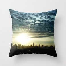 New York, NY Throw Pillow