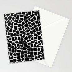 British Mosaic Black and White Stationery Cards