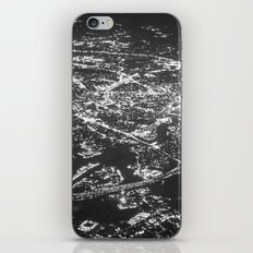 Fly Over Cities iPhone & iPod Skin