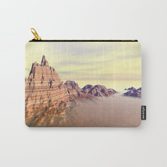 Sedimentary Mountain Range Carry-All Pouch
