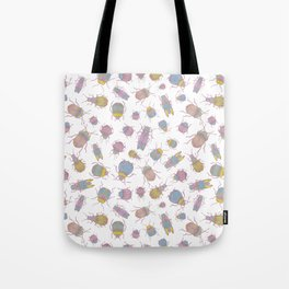 Candy Bugs Tote Bag