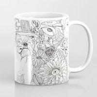 trippy Mugs featuring Trippy by Kandus Johnson