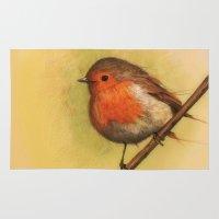 birdy Area & Throw Rugs featuring Birdy by ioanazdralea
