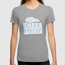 Have a nice monday, Cat T-shirt