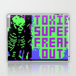 Toxic Super Freakout Laptop & iPad Skin