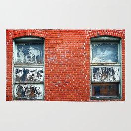 Old Windows Bricks Rug