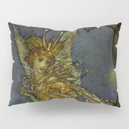 """""""The Fairy Queen"""" Fairy Tale Art by Edmund Dulac Pillow Sham"""