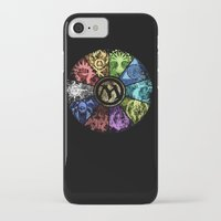magic the gathering iPhone & iPod Cases featuring Magic the Gathering - Faded Guild Wheel by omgitsmagic