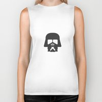 darth Biker Tanks featuring Darth Fighters / Darth Vader by Nillustra™
