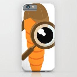 Inspector carrot iPhone Case