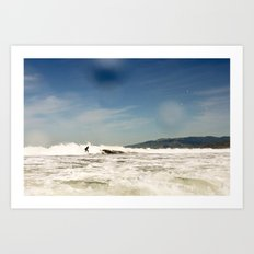 White Water Art Print