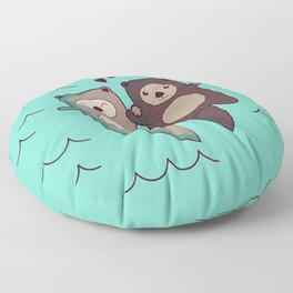 Significant Otter Floor Pillow