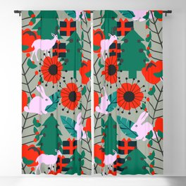 Jolly Christmas crew Blackout Curtain