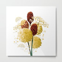 Wild bouquet Metal Print