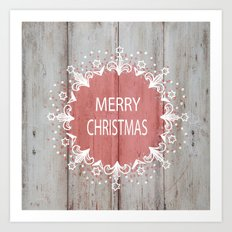 Merry Christmas #2 Art Print