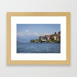 Bellagio, Lake Como, Italy Framed Art Print