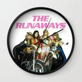 Joan Jett and The Runaways Wall Clock