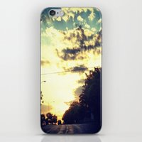 texas iPhone & iPod Skins featuring Texas by Camille Renee