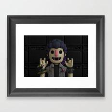 HEAVY METAL Framed Art Print