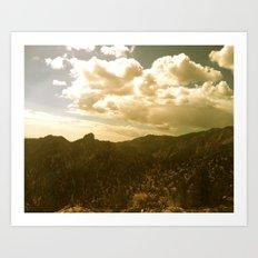 The Sierras Art Print