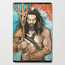 Aquaman Cutting Board