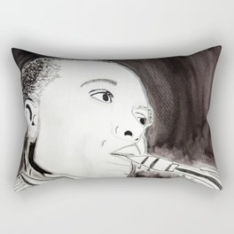 Charlie Parker Rectangular Pillow