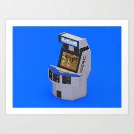 Capcom Playzass Art Print
