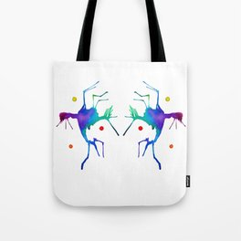 Dueling Jesters Tote Bag
