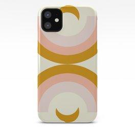 Moon rainbow iPhone Case