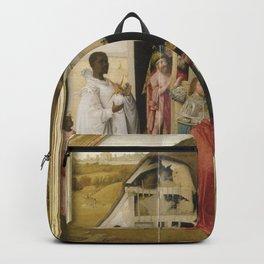 Hieronymus Bosch Magi Upton House Worship Backpack
