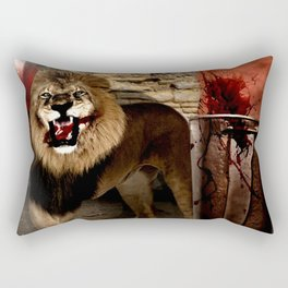 For The Glory of Blood Rectangular Pillow
