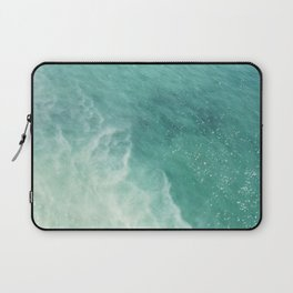 Ocean Paradise | Turquoise Sea | Blue Waves | Scarborough Bluffs Beach | Travel Photography Laptop Sleeve