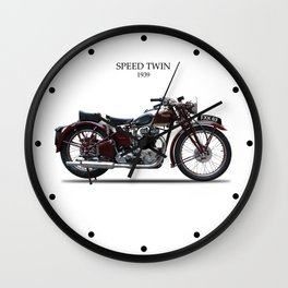 The 1939 Speed Twin Wall Clock