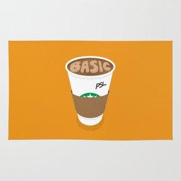 Basic White Girl Pumpkin Spice Latte Rug
