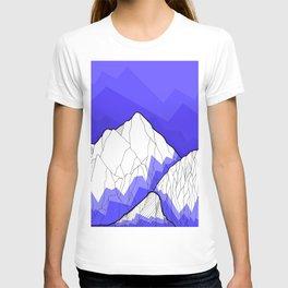 The Deep Blue Hills T-shirt