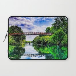 Barton Springs Bridge Laptop Sleeve