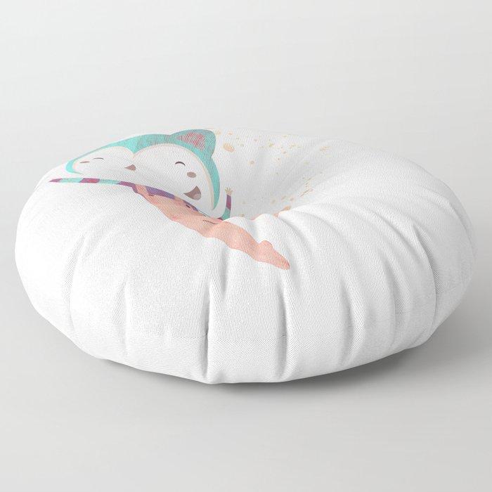 Dance Dreams (Cream) Floor Pillow
