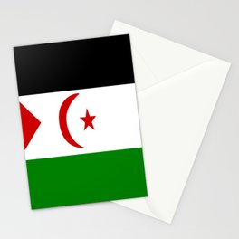 Flag of Western Sahara Stationery Cards