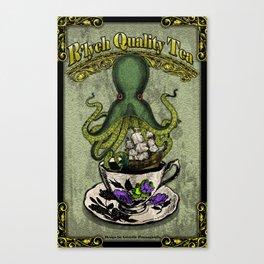 R'lyeh Quality Tea Canvas Print