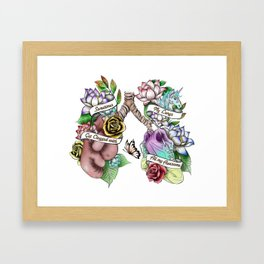 Awesome Lungs Framed Art Print
