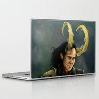 loki Laptop & iPad Skins featuring Loki by toibi