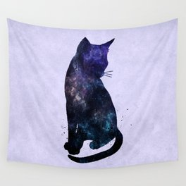 Galactic Cat Wall Tapestry