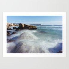 Noordhoek Beach - Long Exposure Seascape Art Print