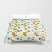 dino Duvet Covers featuring Dino by Elettra